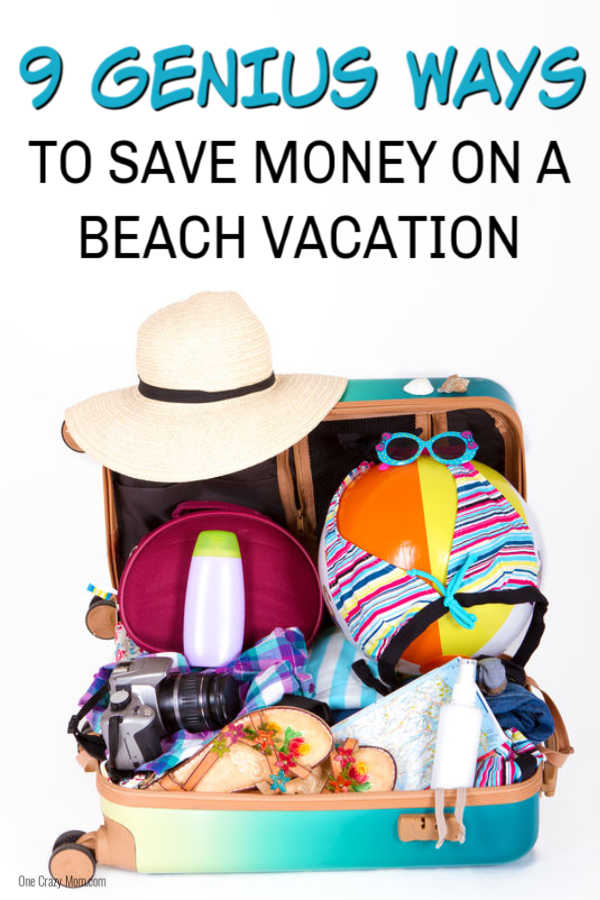 Here are some easy ways to save money on beach vacations. Beach vacations don't have to be expensive with these 9 easy money saving tips.