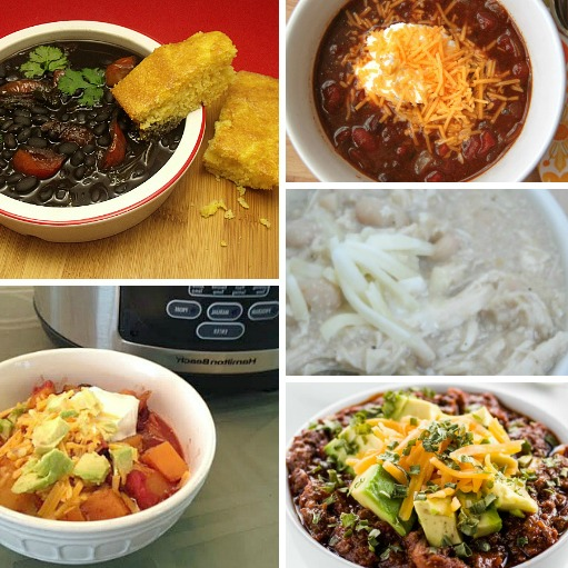 25 of the Best crock pot chili recipes. Here are easy crock pot chili recipes you can make for easy dinner ideas. Crock pot recipes your family will love.