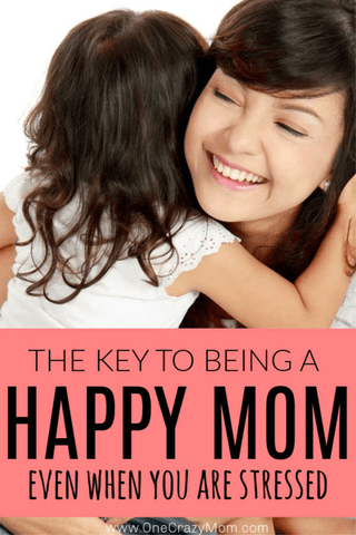 Learn how to be a happy mom. Utilize 5 tips to reduce stress and find out how to be a happy mother. Stress management tips for Moms who try to do it all.