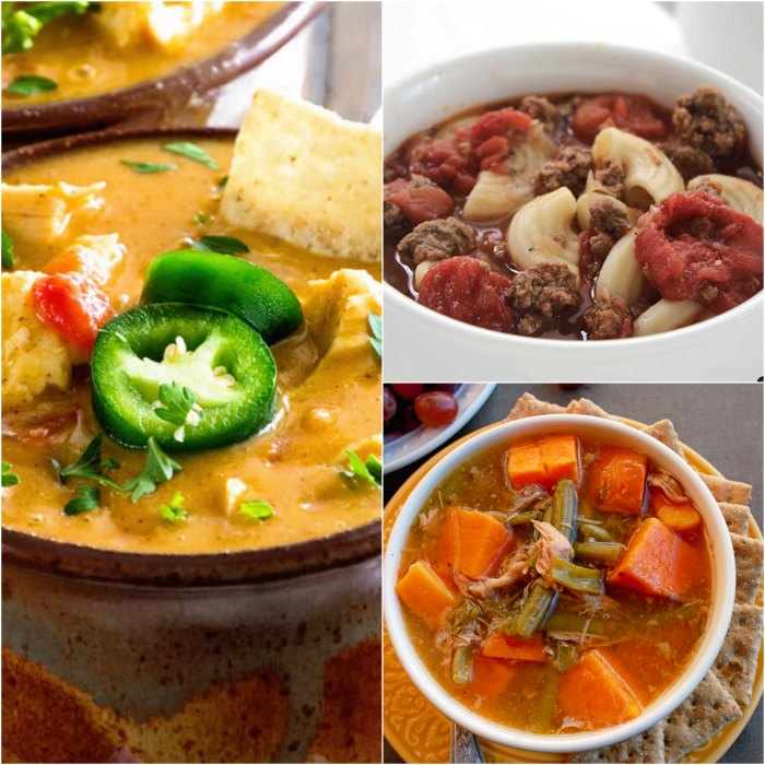 25 quick and easy crock pot soup recipes for busy moms. These quick and easy crock pot soup recipes will be perfect for those busy evenings.