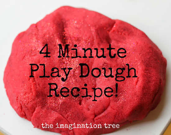 Here are 27 easy homemade playdough recipes that you can make with the kids. Find playdough recipes for scented, edible, glitter and more that are so quick.