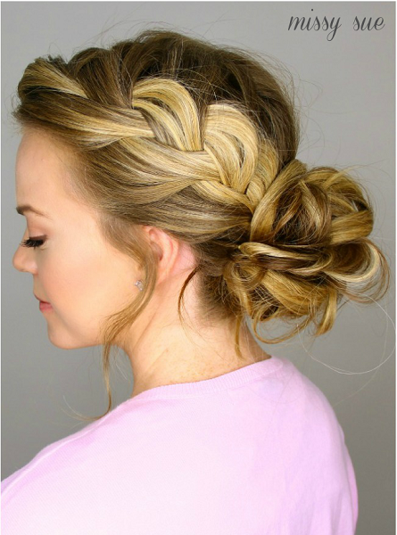Cute Bun Hairstyles Messy Bun Hairstyles For Moms