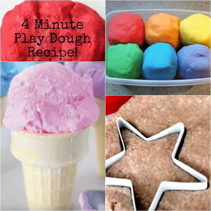 27 Easy Homemade Playdough Recipes You can make Today!