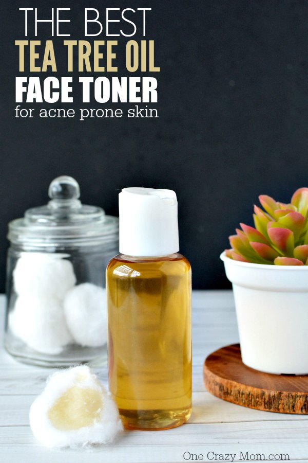 How to make the Best Tea Tree Oil Face Toner. This DIY Face Toner is easy to make and frugal. Tea Tree Oil for acne is great for all skin types.