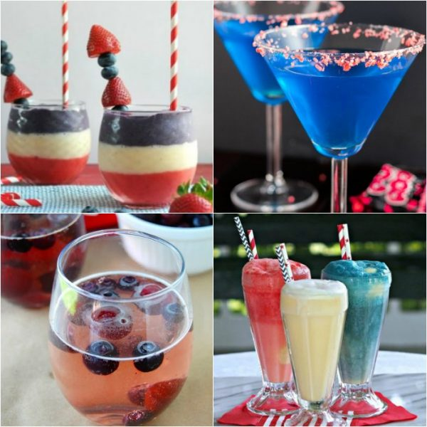 25 Fourth of July Drinks you Won't want to Put Down