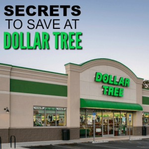 Secrets you need to know before shopping Dollar Tree