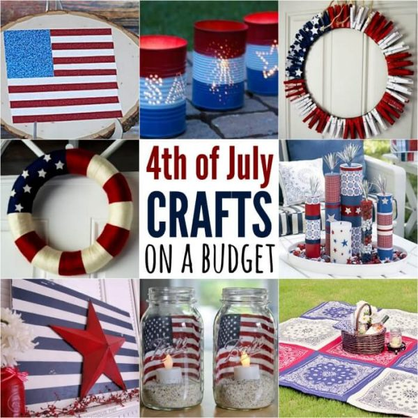 25 Fourth of July Crafts You can make in no time!