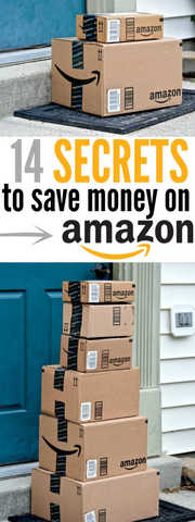 Check out how to save money on Amazon! 14 Secrets you need to know to save even more money on Amazon! The best ways to save money on Amazon.