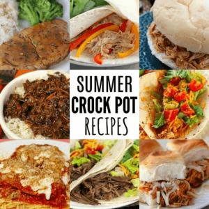 Quick and Easy Summer Crockpot recipes