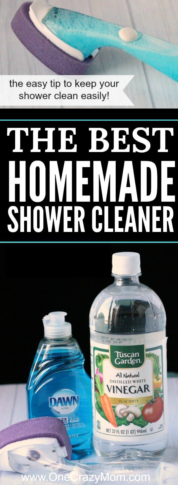 Best homemade shower cleaner best shower cleaner for Best cleaner for bathroom