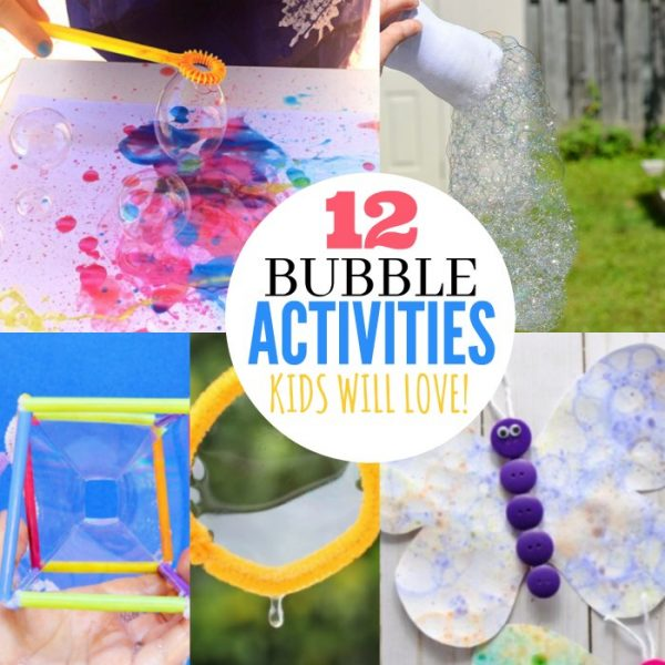 12 Bubble Activities for Kids