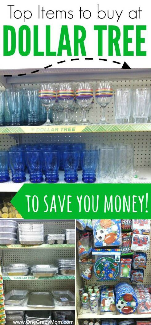 Best Things to Buy at Dollar Tree store - 21 Ideas to Save