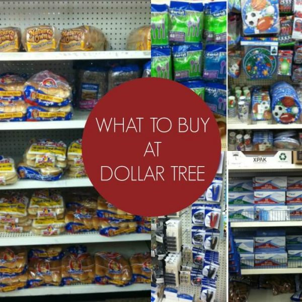 What to buy at the Dollar Tree Store to save you money