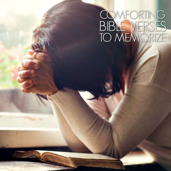 Find comforting Bible verses here. Life can be difficult and sometimes we can use some encouragement. 10 comforting verses every mom should memorize.