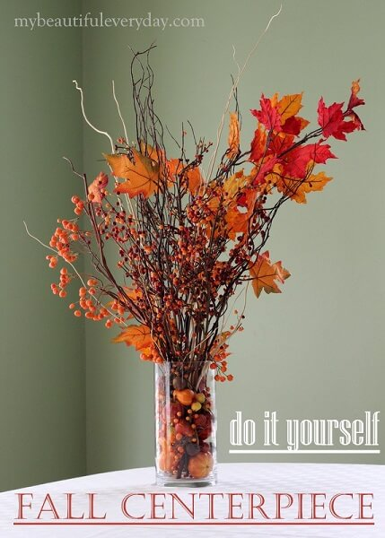 Find the best DIY Fall Centerpiece Ideas for your home. Easy Fall centerpiece ideas to make your home festive and ready for Fall without breaking the bank.