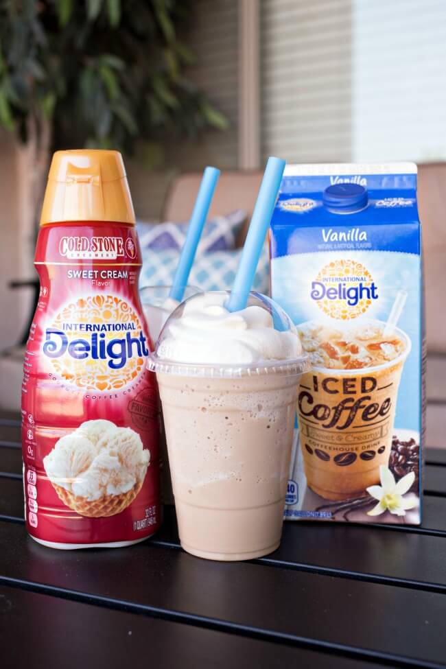There is nothing like a cold drink in the summer. Whip up these kid friendly frozen drink recipes for a fun way to beat the heat. They are quick and easy!
