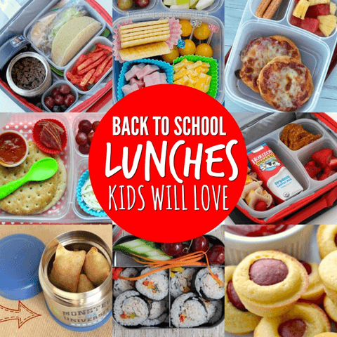 20 EASY back to school lunch ideas for kids
