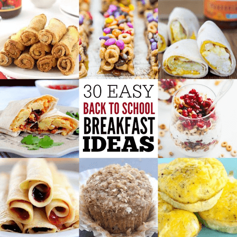 30 back to school breakfast ideas