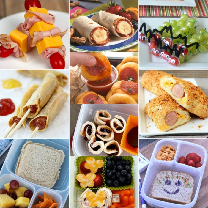 25 Creative School Lunch Ideas for Kids