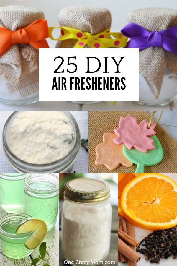 DIY Air Fresheners - Natural Air