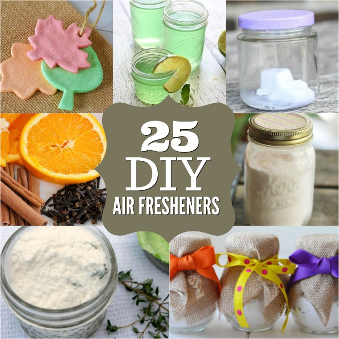 25 DIY Air Fresheners that Smell Amazing