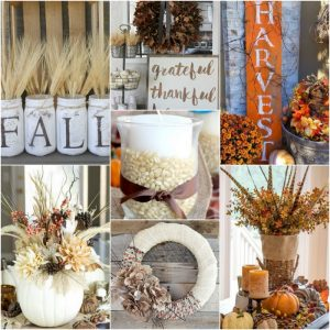 25 DIY Rustic Decor Ideas for fall