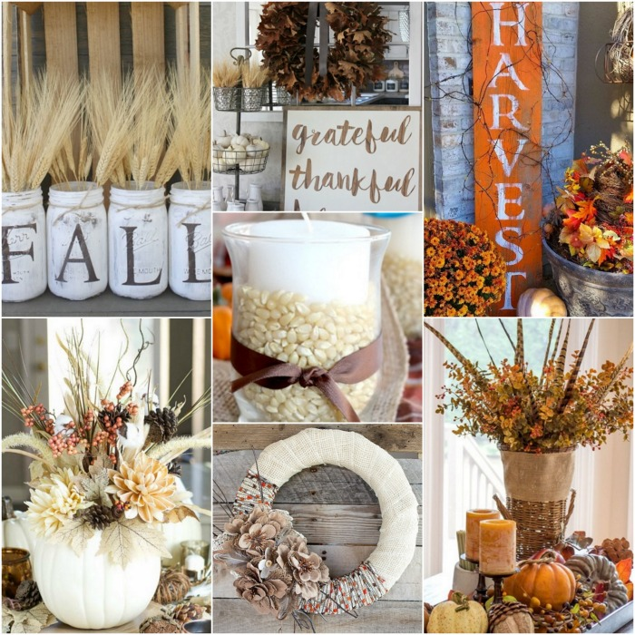 Fall Home Decorations: 25 DIY Fall Decor Ideas You