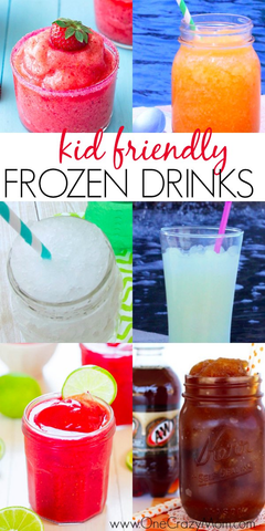 Take a look at these 20 kid friendly frozen drink recipes. Beat the heat with these quick and easy non-alcoholic frozen drinks. They are all so delicious and refreshing! Try these kid friendly frozen drinks. Everyone will enjoy these non alcoholic frozen drinks.