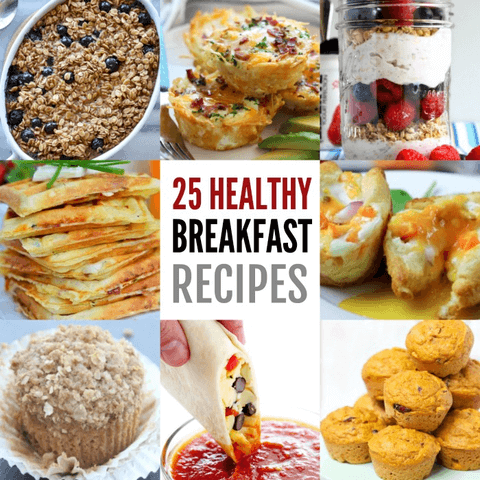 Find nutritious and healthy breakfast ideas here. 25 easy healthy breakfast ideas that kids will love. Make mornings easier with these healthy breakfast ideas for kids.