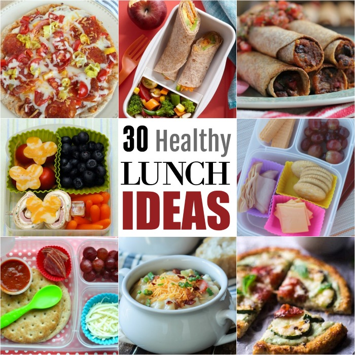 30 Healthy School Lunch Ideas