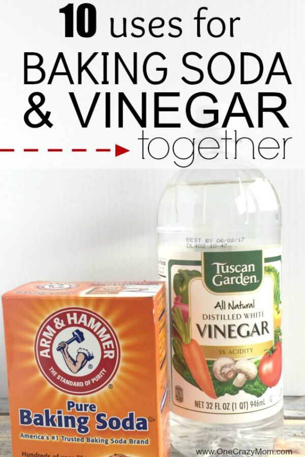 Here Are Diffe Uses For Baking Soda And Vinegar Together We Have Some Clever Cleaning