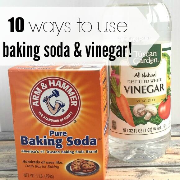 We have put together 10 of the most popular uses for baking soda and vinegar. These ideas for baking soda cleaning and vinegar are so clever! Try them!