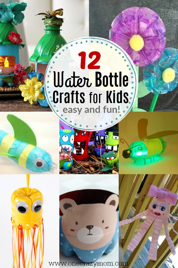 Find Water Bottle Craft Ideas For Kids 12 Plastic