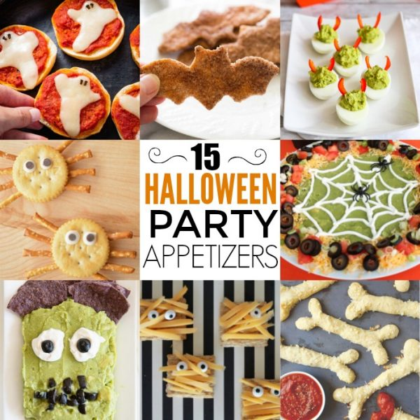 15 Halloween Party Appetizers Guests Will Love