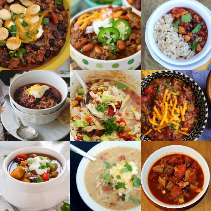 It's time to start making easy slow cooker chili recipes.20 yummy crock pot chili recipes.Simple chili recipe for the crock pot.Chili recipe crock pot ideas