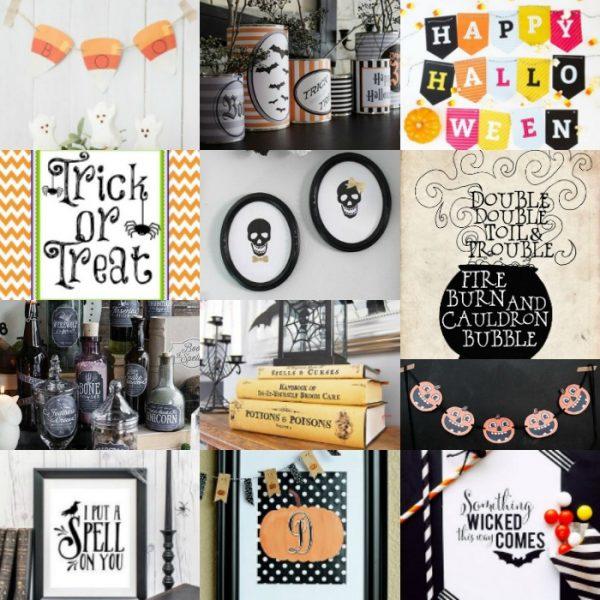 20 Fun and Free Halloween Printables