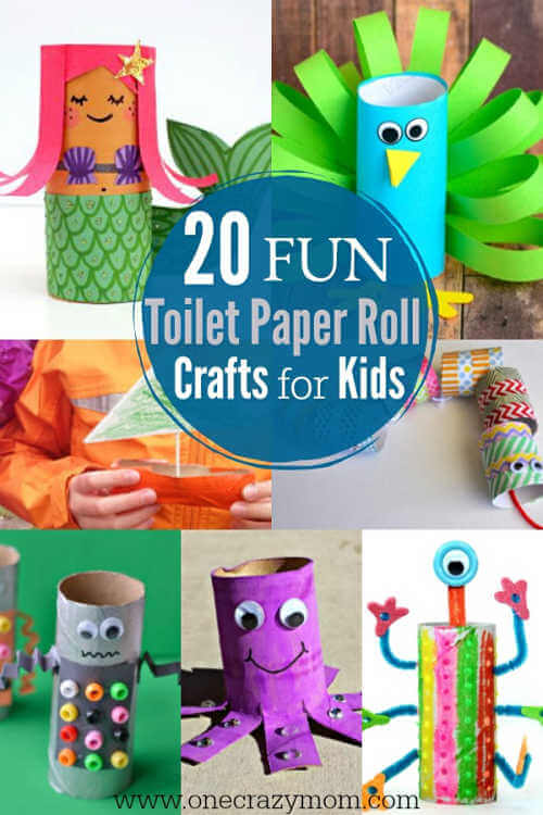 Toilet Paper Roll Crafts For Kids 20 Fun Toilet Paper Roll Crafts