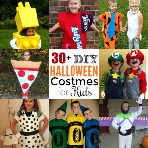 Over 30 DIY Halloween Costumes For Kids