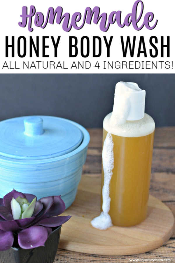 We have a super easy tutorial to learn how to make body wash.  This luxurious homemade olive oil body wash will leave your skin moisturized and so smooth.