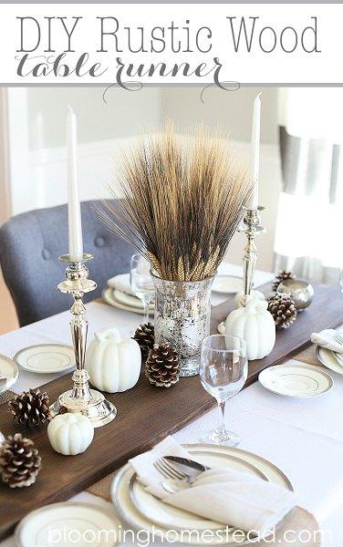 Thanksgiving table decor ideas easy