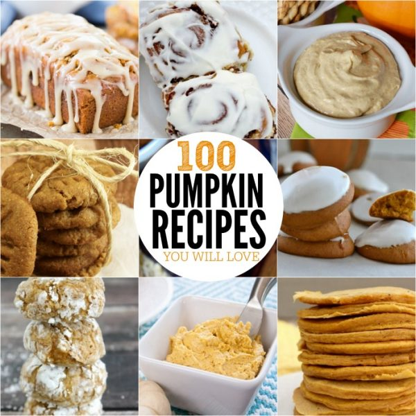 100 Easy Pumpkin Recipes to Try