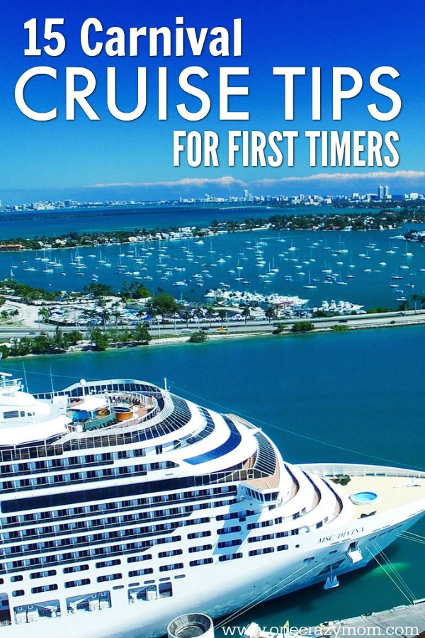 Check out these carnival cruise tips for first timers before you set sail on your first cruise. Here are 15 tips you need to know!