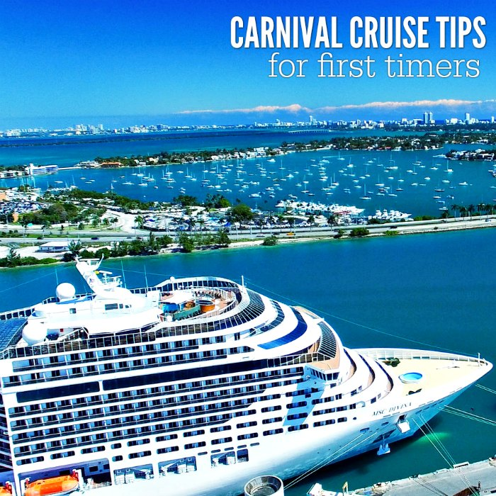 Check out these carnival cruise tips for first timers before you set sail on your first cruise. Here are 15 Carnival cruise tips you need to know!