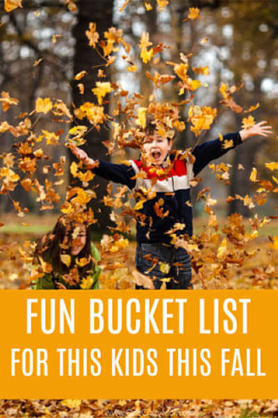 There are so many fun Fall activities for kids! The entire family will enjoy this Fall Bucket list for kids. Try these 10 free fall activities for kids.