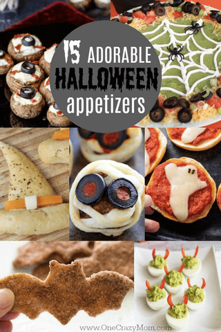 Check out these fun Halloween party appetizers. 15 easy Halloween appetizers that will be a hit for any Halloween party. Make these Halloween snack ideas for parties to impress your guests.