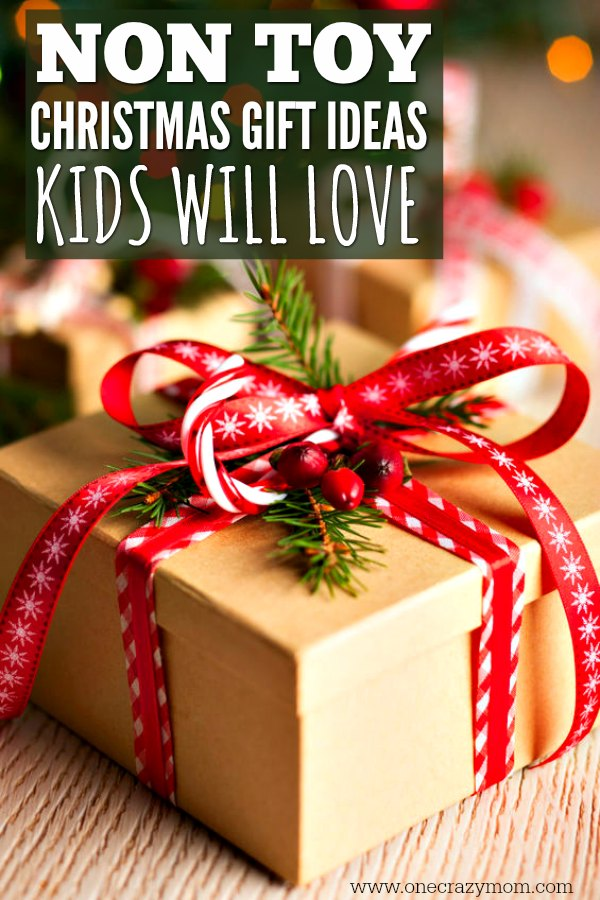 Non Toy Christmas Gift Ideas for Kids - 20 Ideas kids will love