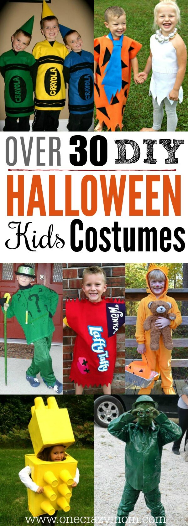 Diy Halloween Costumes For Kids Easy Diy Halloween