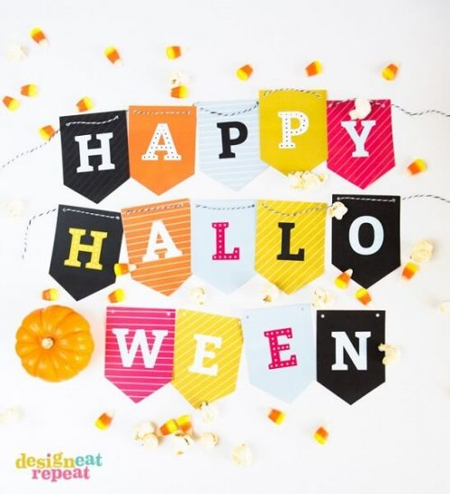 photograph about Halloween Decorations Printable titled Totally free Halloween Printables - 20 Printable Halloween Decorations