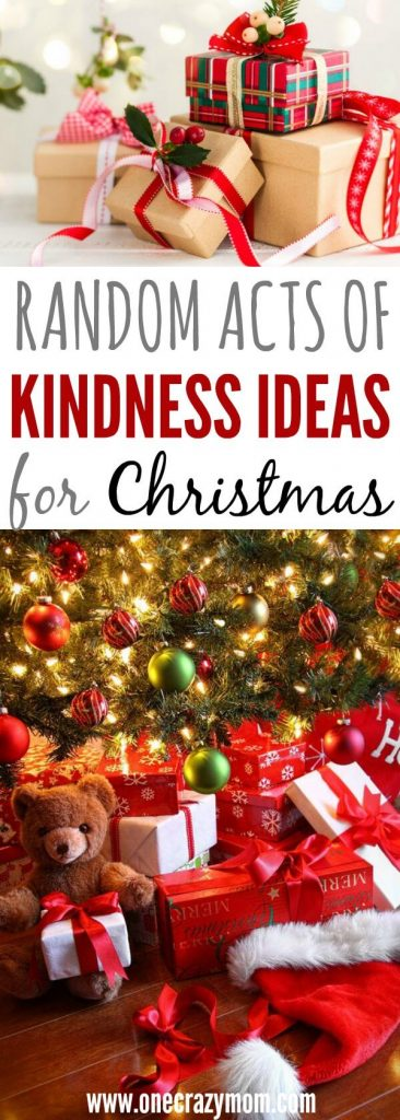 We have 20 random acts of kindness ideas for Christmas. Get the entire family involved with this random acts of kindness list to brighten someone's day.