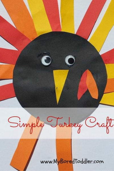 The kids will not be bored with these fun and easy Thanksgiving crafts for toddlers. 20 easy Thanksgiving crafts for kids they will love.